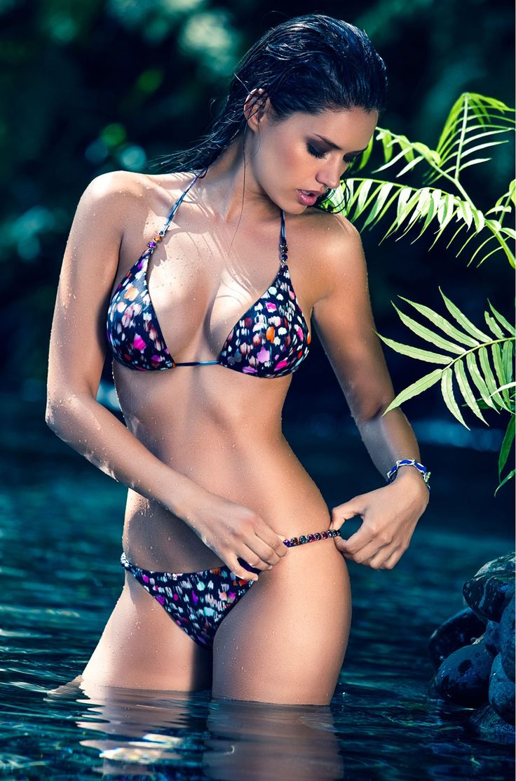 MICHEA CRAWFORD in Pain de Sucre Swimwear